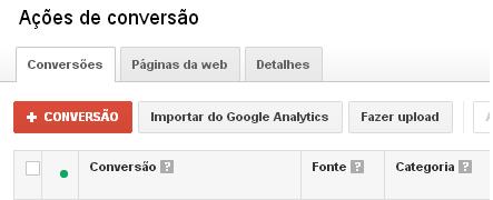 Tag de Conversão do Google Adwords